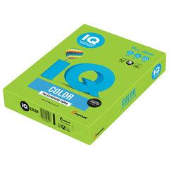 Бумага цветная IQ color, А4, 80 г/м2, 500 л., интенсив, ярко-зеленая, MA42