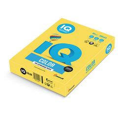 Бумага цветная IQ color, А4, 80 г/м2, 500 л., интенсив, канареечно-желтая, CY39