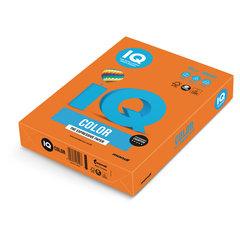Бумага IQ color, А4, 80 г/м2, 500 л., интенсив, оранжевая, OR43