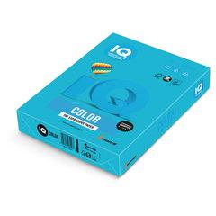 Бумага IQ color, А4, 80 г/м2, 500 л., интенсив, светло-синяя, AB48