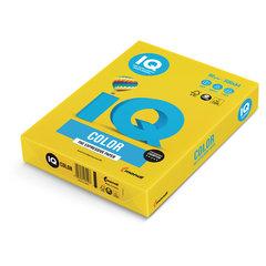 Бумага IQ color, А4, 80 г/м2, 500 л., интенсив, ярко-желтая, IG50