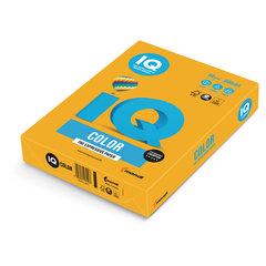 Бумага IQ color, А4, 80 г/м2, 500 л., умеренно-интенсив, старое золото, AG10