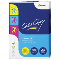 Бумага COLOR COPY, БОЛЬШОЙ ФОРМАТ (297х420 мм), А3, 120 г/м2, 250 л., для полноцветной лазерной печати, А++, Австрия, 161% (CIE)