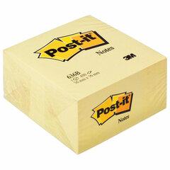 Блок самоклеящийся (стикер) POST-IT ORIGINAL 76х76 мм, 450 л., желтый, 636-В