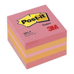 Блок самоклеящийся (стикер) POST-IT ORIGINAL 51х51 мм, 400 л., ассорти, 2051-P