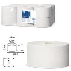 Бумага туалетная 200 м, TORK (Система Т2), комплект 12 штук, Universal