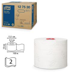 Бумага туалетная 100 м, TORK (Система Т6), комплект 27 шт., Advanced, 2-слойная, белая, 127530