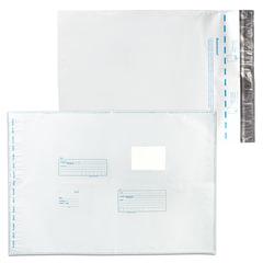 "Конверт-пакеты ПОЛИЭТИЛЕН B3 (360х500 мм) до 500 л., отрывная лента, ""Куда-Кому"", КОМПЛЕКТ 250 шт., 11007"