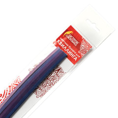 """Бумага для квиллинга """"Фиолетовый микс"""", 5 цветов, 125 полос, 3 мм х 300 мм, 130 г/м2, ОСТРОВ СОКРОВИЩ"""