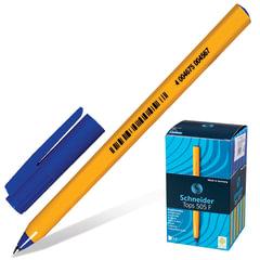 """Ручка шариковая SCHNEIDER (Германия) """"Tops 505 F"""", СИНЯЯ, корпус желтый, узел 0,8 мм, линия письма 0,4 мм"""