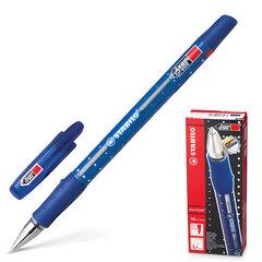 """Ручка шариковая STABILO """"Exam Grade"""", корпус синий, узел 0,8 мм, линия 0,4 мм, синяя"""