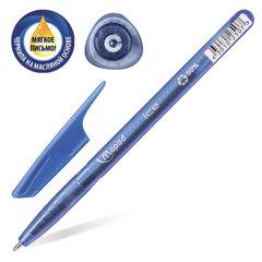 """Ручка шариковая масляная MAPED (Франция) """"Green Ice"""", корпус тонированный, узел 1 мм, линия 0,6 мм, синяя"""