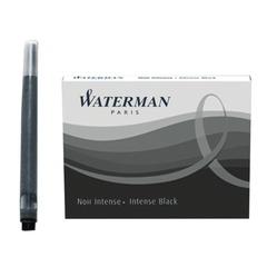Картриджи чернильные WATERMAN, комплект 8 штук, черные