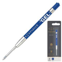 """Стержень гелевый PARKER """"Quink Gel"""", металлический, 98 мм, линия письма 0,7 мм, блистер, синий"""