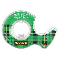 """Клейкая лента 19 мм х 7,5 м SCOTCH """"Magic"""", невидимая, на диспенсере, 56 мкм"""