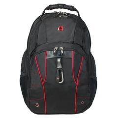 Рюкзак WENGER, универсальный, черный, функция ScanSmart, 29 л, 34х18х47см