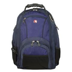 Рюкзак WENGER, универсальный, сине-черный, 29 л, 35х19х44 см