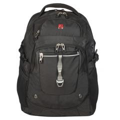 Рюкзак WENGER, универсальный, черный, функция ScanSmart, 34 л, 34х22х46 см