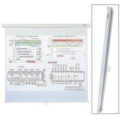 Экран проекционный настенный (150х150 см), матовый, 1:1, LUMIEN ECO PICTURE, LEP-100101