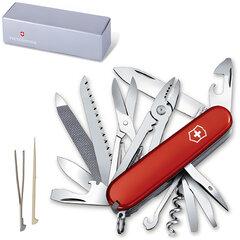 """Подарочный нож VICTORINOX """"Handyman"""", 91 мм, складной, красный, 24 функции, 1.3773"""