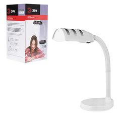 Светильник настольный ЭРА NE-302, на подставке, для люминесцентной или светодиодной лампы, белый, E27