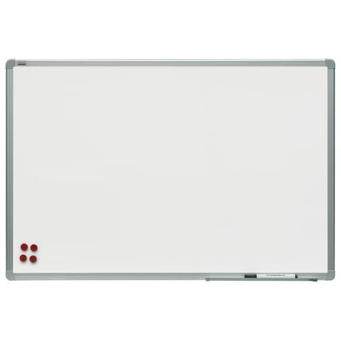 """Доска магнитно-маркерная 60x90 см, алюминиевая рамка, OFFICE, """"2х3"""" (Польша)"""