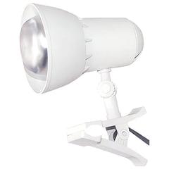 """Светильник настольный """"Надежда-1 Мини"""", на прищепке, лампа накаливания/люминесцентная/светодиодная, до 40 Вт, белый, Е27"""