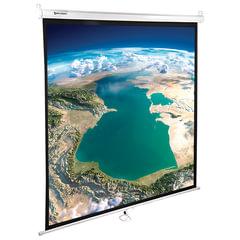 Экран проекционный BRAUBERG WALL, матовый, настенный, 180х180 см, 1:1