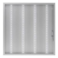 Светильник светодиодный с драйвером, холодный белый, АРМСТРОНГ SONNEN ЭКО, 6500 K, 595х595х19 мм, 36 Вт, прозрачный, 237153