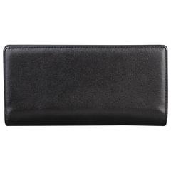 """Портмоне мужское FABULA """"Estet"""", 185х95 мм, натуральная кожа, на кнопке, черное, PM.24.MN"""