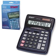 Калькулятор STAFF настольный STF-7312, 12 разрядов, двойное питание, 185х140 мм