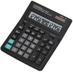 Калькулятор CITIZEN настольный SDC-664S, 16 разрядов, двойное питание, 199x153 мм