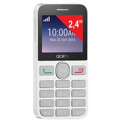 "Телефон мобильный ALCATEL One Touch 2008G, SIM, 2,4"", MicroSD, черно-белый"