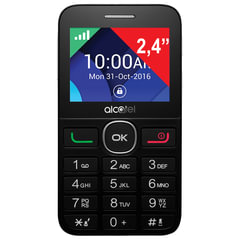 "Телефон мобильный ALCATEL One Touch 2008G, SIM, 2,4"", MicroSD, черный"