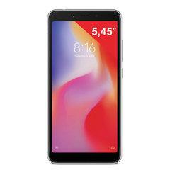 "Смартфон XIAOMI Redmi 6A, 2 SIM, 5,45"", 4G (LTE), 5/13 Мп, 16 Гб, черный, пластик"