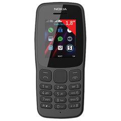 """Телефон мобильный NOKIA 106 TA-1114, 2 SIM, 1,8"""", серый"""