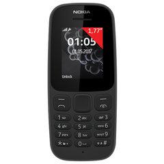 """Телефон мобильный NOKIA 105 TA-1174, 2 SIM, 1,77"""", черный"""