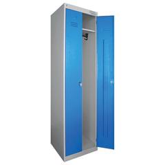 """Шкаф металлический для одежды """"ШРЭК-22-530"""", двухсекционный, 1850х530х500 мм, разборный"""