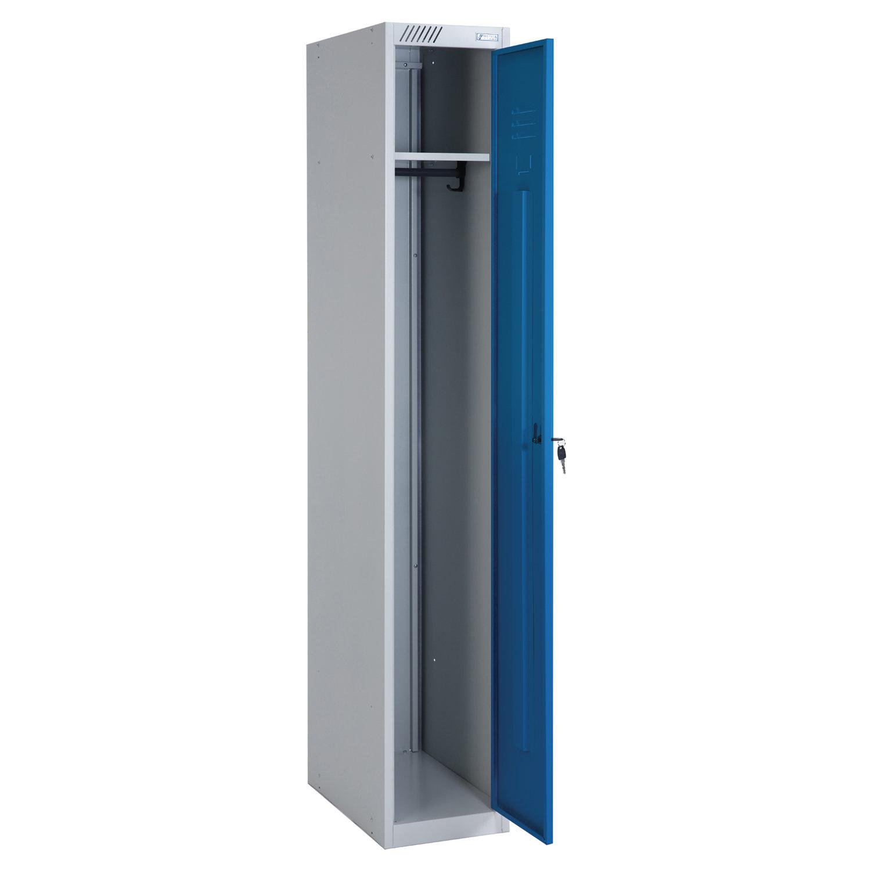 Шкаф металлический для одежды ШРС-11-300, односекционный, 1850х300х500мм, 17 кг, разборный