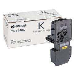 Тонер-картридж KYOCERA (TK-5240K) P5026cdn/w/M5526cdn/w, ресурс 4000 стр., цвет черный, оригинальный