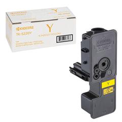 Тонер-картридж KYOCERA (TK-5220Y) ECOSYS P5021cdn/cdw/M5521cdn/cdw, желтый, ресурс 1200 стр., оригинальный