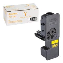 Тонер-картридж KYOCERA (TK-5230Y) ECOSYS P5021cdn/cdw/M5521cdn/cdw, желтый, ресурс 2200 стр., оригинальный
