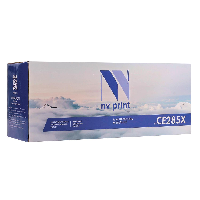 Картридж лазерный NV PRINT (NV-CE285X) для HP LaserJet P1102/P1102W/M1212NF, ресурс 2300 стр.