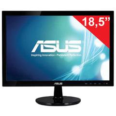 """Монитор ASUS VS197DE 18,5"""" (47 см), 1366x768, 16:9, TN+film, 5 мс, 200 cd, VGA, черный"""