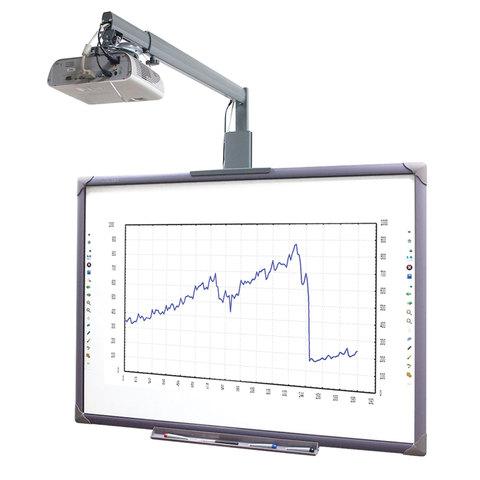 Интерактивный комплект ELITEBOARD доска WR-84A10, проектор PS501X, кронштейн MS-750S