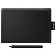 Планшет графический WACOM One small CTL-472-N, 2540LPI, 2048 уровней, А6 (152x95), USB, черный