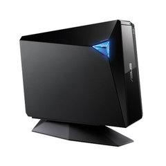 Привод оптический ASUS BW-16D1H Blu-Ray, USB 3.0, внешний, черный