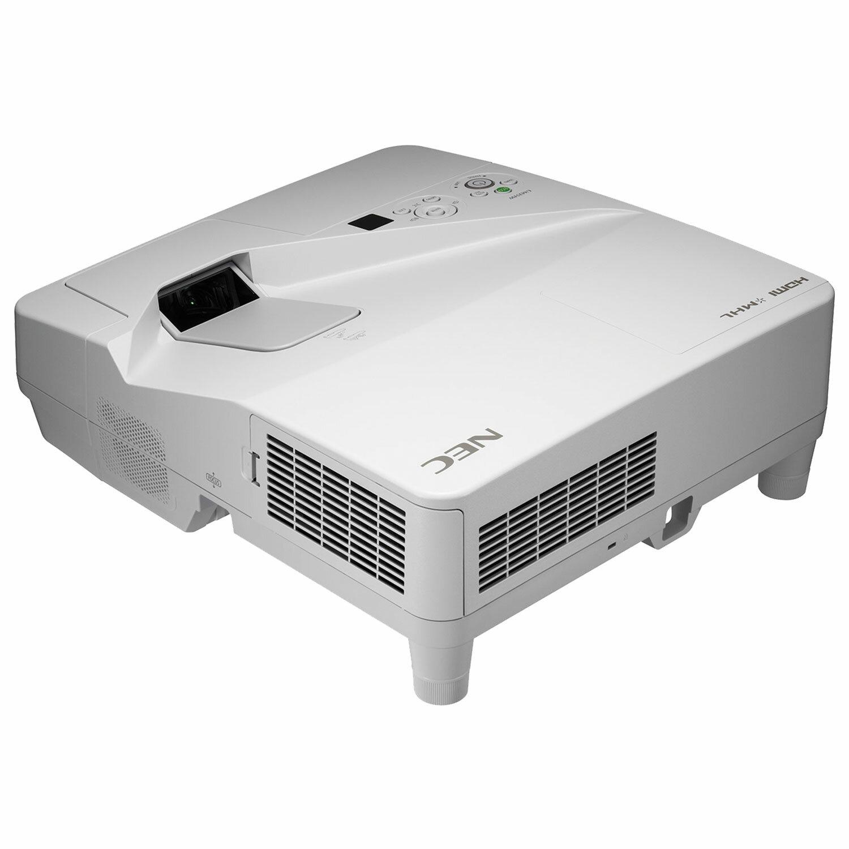 Проектор NEC UM301X с креплением, LCD, 1024х768, 4:3, 3000 лм, 6000:1, ультра-короткофокусн, 5,5 кг