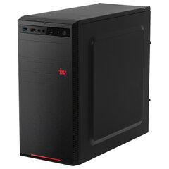 Системный блок IRU 313MT INTEL Core i3-9100F 3,6 ГГц, 8 ГБ, SSD 240 ГБ, Windows 10 HOME, черный