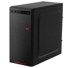 Системный блок IRU 313MT INTEL Core i3-10100F 3,6 ГГц, 8 ГБ, SSD 240 ГБ, Windows 10 HOME, черный